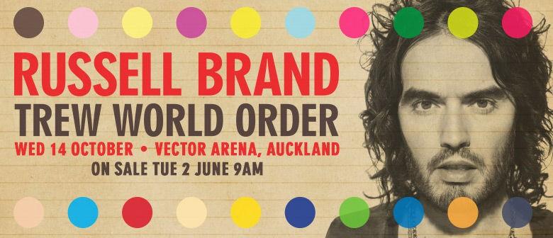 Russell Brand Announces NZ Show