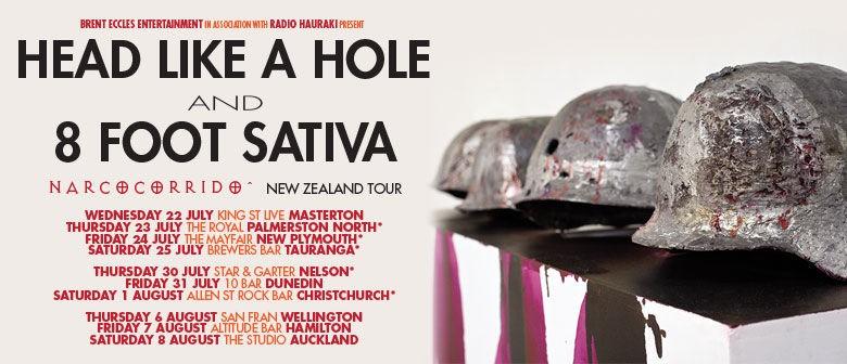 Head Like a Hole & 8 Foot Sativa - The Narcocorrido Tour