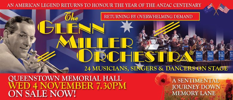 The Glenn Miller Orchestra Announces NZ Tour