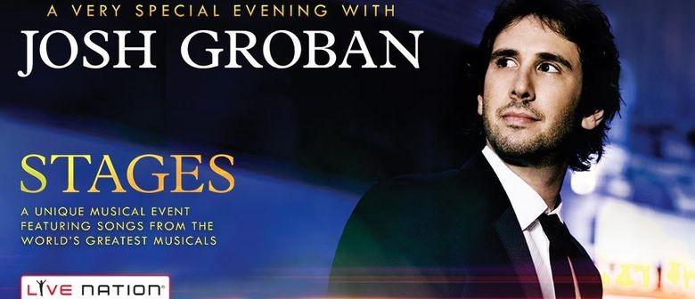 Josh Groban Announces Auckland Concert with Orchestra