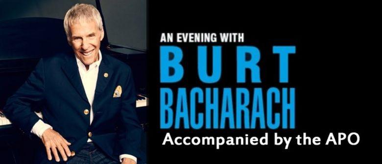 Burt Bacharach to Perform with APO