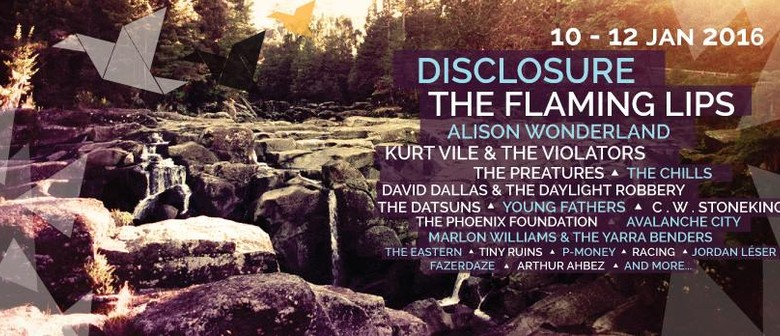 Flaming Lips, Disclosure & Kurt Vile Confirmed for New Festival
