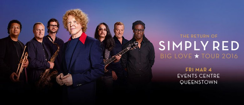 Simply Red Announces Big Love Tour