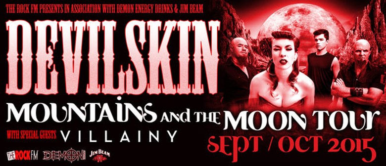 Devilskin Announces 2nd Hamilton Mountain and the Moon Show