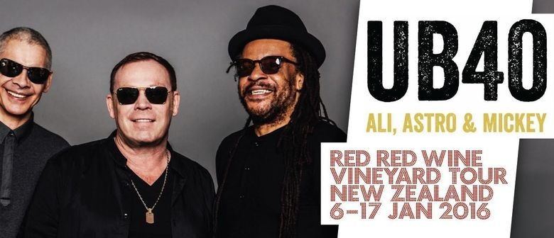 UB40 Announces Queenstown Show