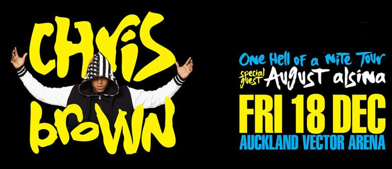 Chris Brown Announces December Show in Auckland