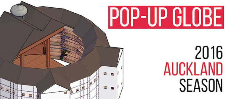 Globe Theatre To Pop Up In Auckland