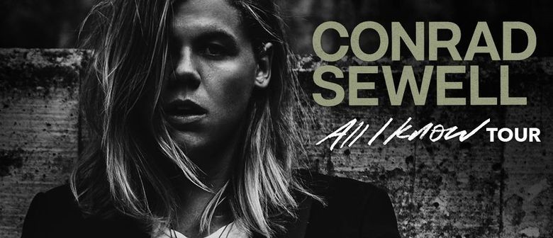 Conrad Sewell Announces First Ever Show In Auckland