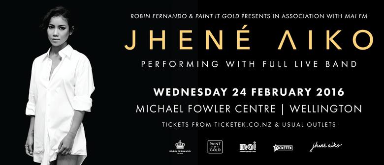 Jhené Aiko in Wellington