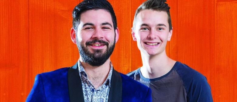 Montecristo Comedy Fest Starts Today! Please Meet Kade & Jeremy!