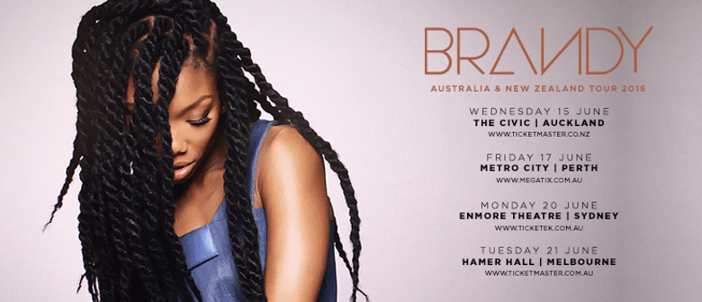 Brandy, R&B Songstress To Debut In New Zealand