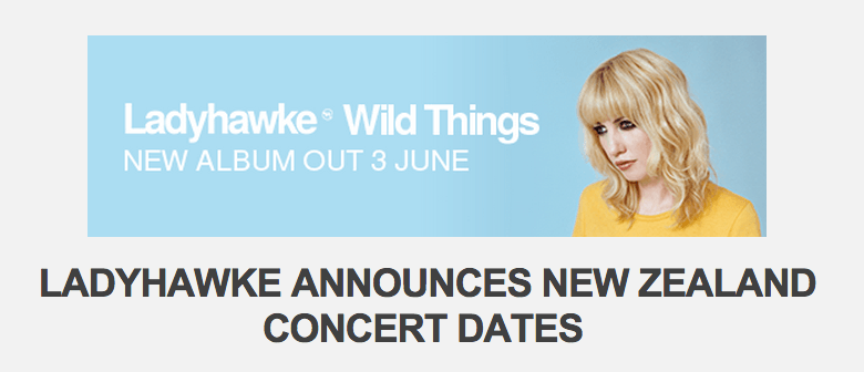 Ladyhawke Returns To Promote New Album