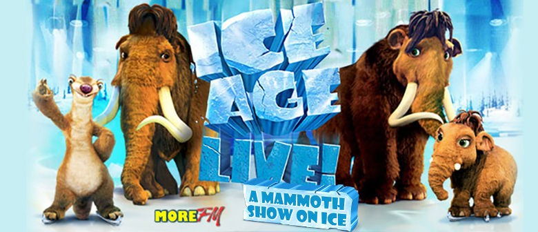 Ice Age Live! Will Land In Auckland This Weekend!
