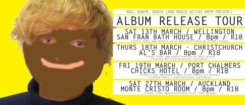 Connan Mockasin Album Release Tour Announced