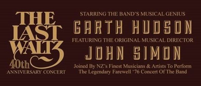 The Last Waltz To Tour New Zealand This November