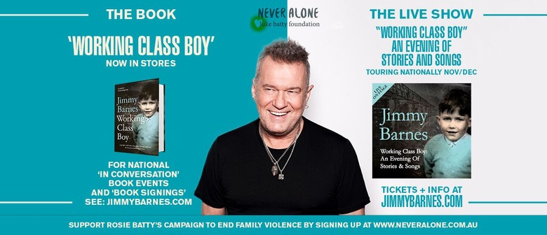 Jimmy Barnes To Tour The Country Next February