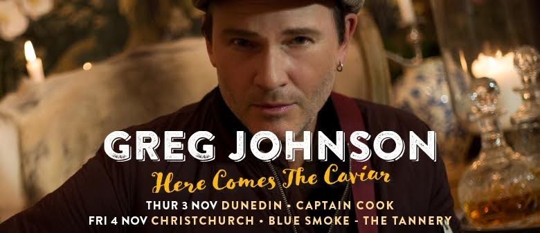 Greg Johnson Announces An ExtraShow In Auckland