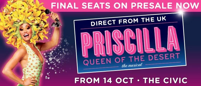 Priscilla Queen Of The Desert Opens Next Week