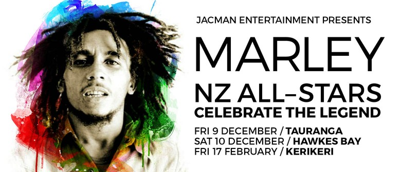 Marley: NZ All-Stars Add Northland Show