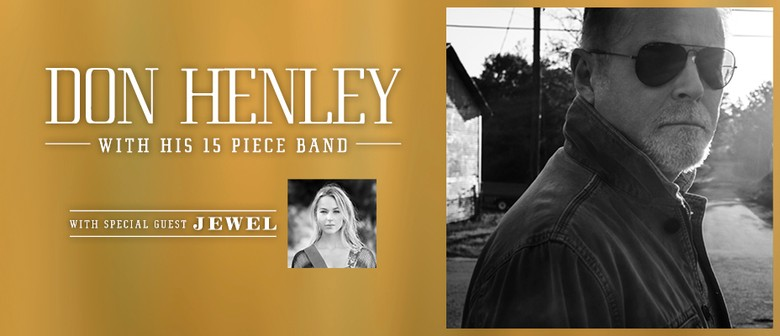 Don Henley To Tour NZ In 2017 With Special Guest Jewel