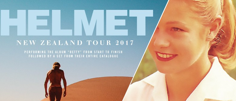 Helmet Announce Two NZ Shows