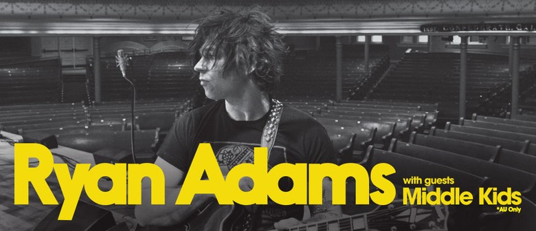 Ryan Adams In New Zealand