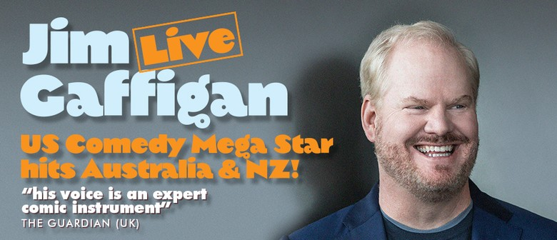 Jim Gaffigan Locks In First Ever New Zealand Shows In 2017