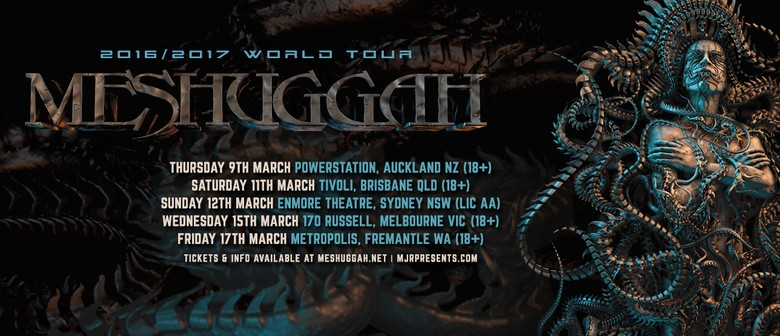 Swedish Metal Band Meshuggah Is Heading for Auckland This March