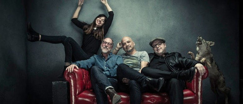 American Rock Band Pixies Return to New Zealand This Month