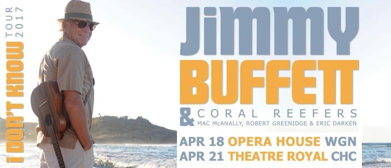 Jimmy Buffett Announces Two New Zealand Shows This April