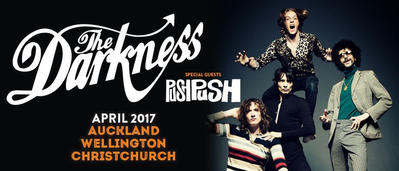 The Darkness Announced First NZ Tour with Push Push