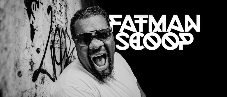 American Hype Man Fatman Scoop Takes NZ Roads For the First Time