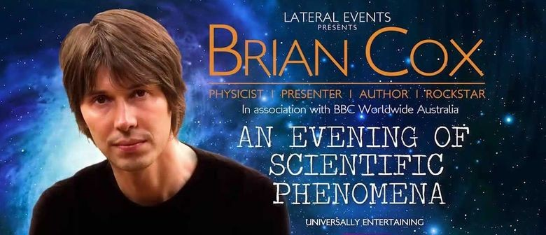 Professor Brian Cox Comes to Auckland this November