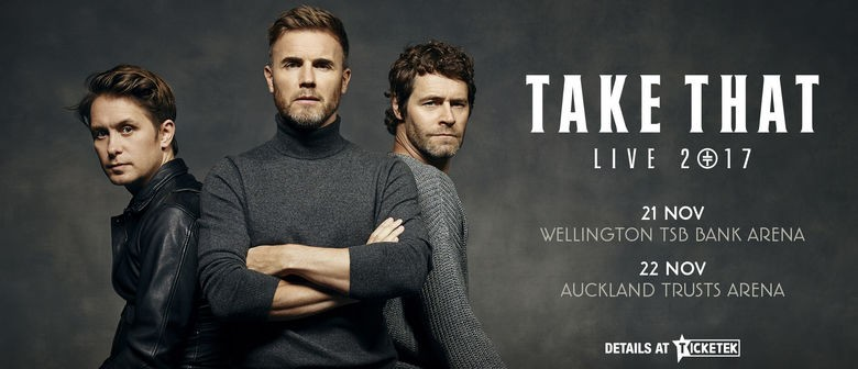 Take That Announce NZ Tour this November