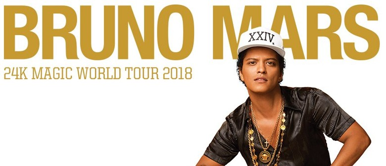 Bruno Mars Brings 24K Magic World Tour to New Zealand Next Year