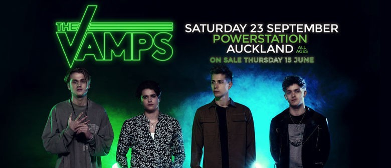 The Vamps Lock In Auckland Show This September