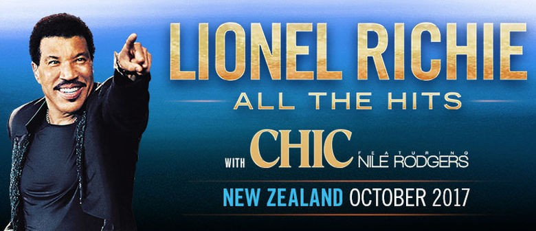 Lionel Richie Hits NZ shores this October