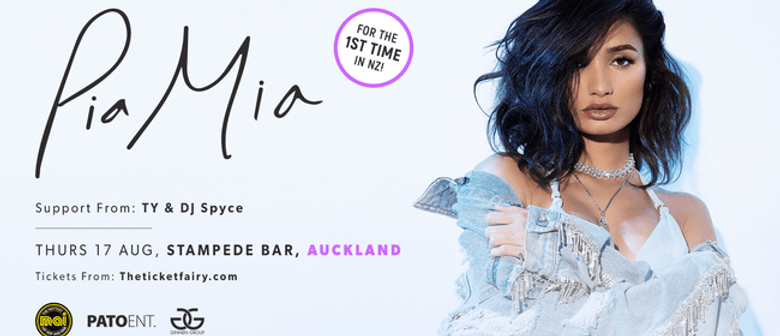 Pia Mia hits Auckland for the first time this August
