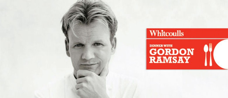 Dinner With Gordon Ramsay Events Re-scheduled