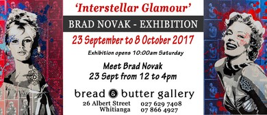 Interstellar Glamour Exhibition - Brad Novak