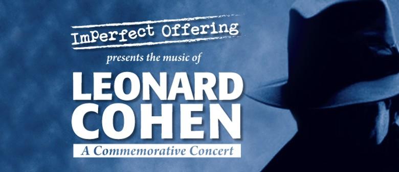 Leonard Cohen Commemorative Concert