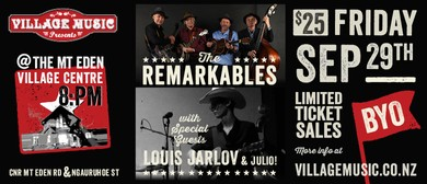The Remarkables With Louis Jarlov In Concert
