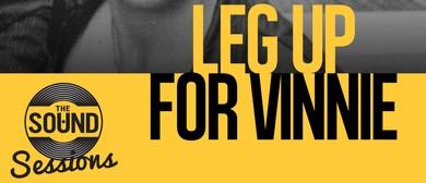 Leg Up For Vinnie