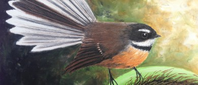 Learn to Draw - Fantail In Oil Pastel Workshop