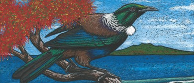 Learn to Draw - Tui In Oil Pastel Workshop