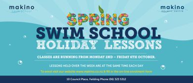 October Swim School Holiday Lessons