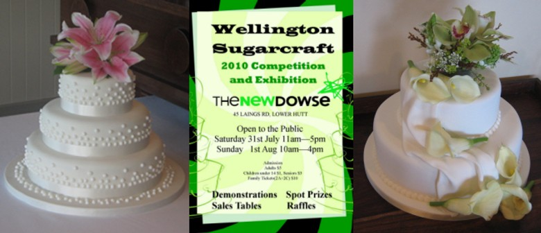 Cake Decorating Lower Hutt : Wellington Sugarcraft Competition and Exhibition - Lower ...
