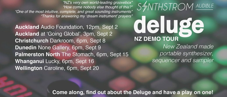 Deluge by Synthstrom Audible NZ Tour - Demo