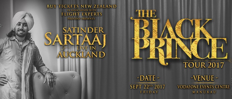 Satinder Sartaaj Live - The Black Prince Tour 2017