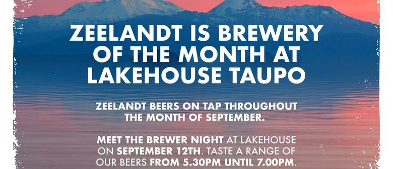 Meet the Brewer Night - Zeelandt Brewery: CANCELLED